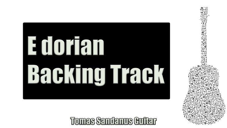 Dorian Funk Groove | Guitar Backing Track Jam in E dorian with Chords | E dorian Scale