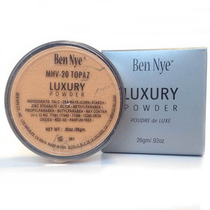 Ben Nye's MediaPRO Camel Luxury Powder is a translucent, silky powder with just a hint of warmth with golden to bronze undertones. Mojave Luxury Powders set foundation, reduce shine, and enhance olive and brown skin tones without a hint of chalkiness. Expect 50-125 applications per 1.5 oz. MediaPRO is Ben Nye's global makeup collection for film, fashion, bridal, theatre and HD broadcast.