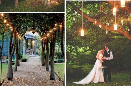 Wedding on a variety of luxury and warm lighting design, to add mysterious romantic wedding ~ ~ ~