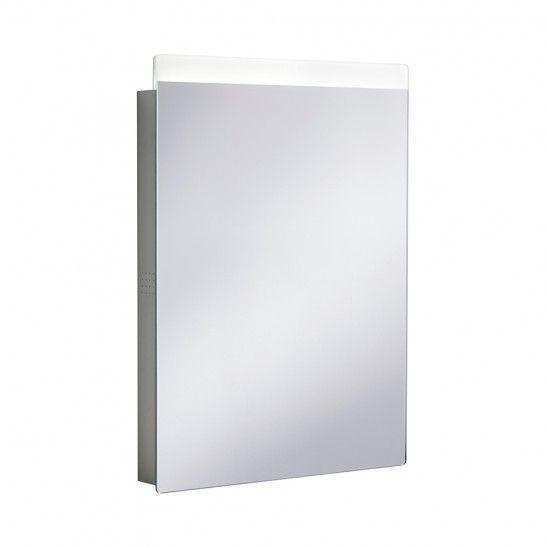 Revive 3.0 LED Illuminated Mirror in Illuminated Mirrors with <em>Bluetooth </em><sup>®</sup>   Luxury bathrooms UK, Crosswater Holdings