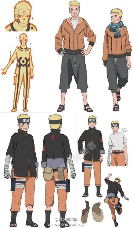 Naruto The Last Character Design Color : Best images about reference sheets naruto on pinterest