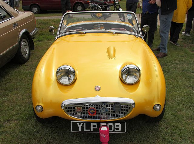 Frogeye? back in the day this was referred to as a BUGEYE SPRITE... So I'm wondering where the FROG EYE came from?