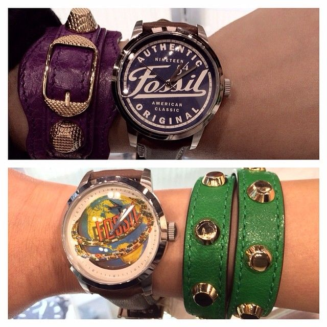the long awaited #fossil limited edition is now available at the webstore ! see how we wear it !