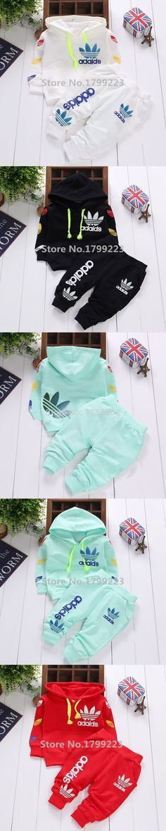 0-2Y cotton newborn baby boy clothes baby girl clothing set suit toddler bodysuits products for children sport 2016 spring Free