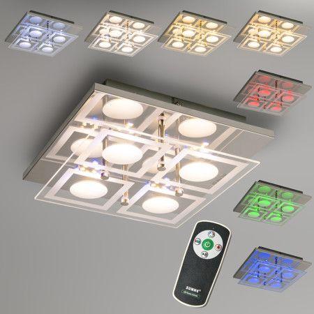 led design deckenleuchte am bild oder edeccdebc ceiling lamps summer sale
