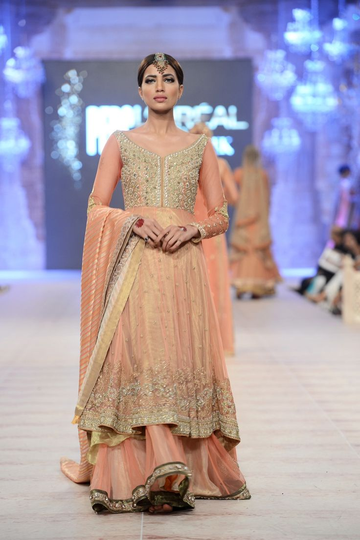 Asifa & Nabeel's collection at PFDC Loreal Bridal Week.