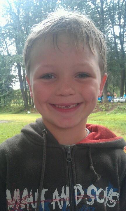 Caleb Wiener enjoying Chase Valley Park