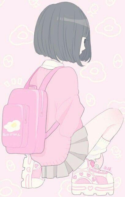 Imagem de pink, anime, and kawaii