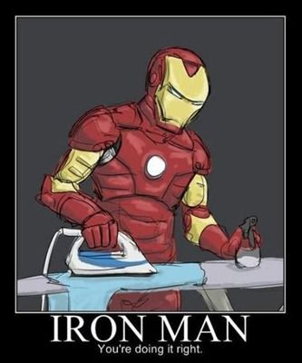 THE REAL IRON MAN!!! XD