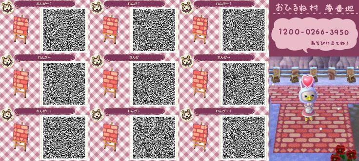 Animal Crossing New Leaf - QR Codes