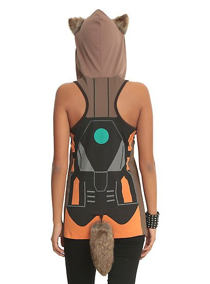Marvel Her Universe Guardians Of The Galaxy Rocket Raccoon Costume Tank TopMarvel Her Universe Guardians Of The Galaxy Rocket Raccoon Costume Tank Top,