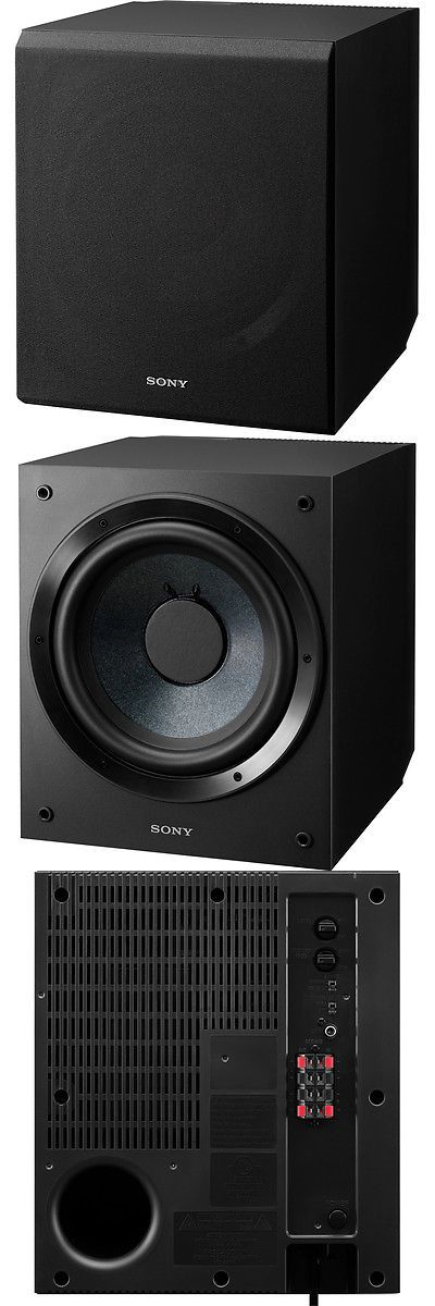 Home Theater Systems: Sony Sa-Cs9 115 W 10 Home Theater Active Subwoofer -> BUY IT NOW ONLY: $158 on eBay!