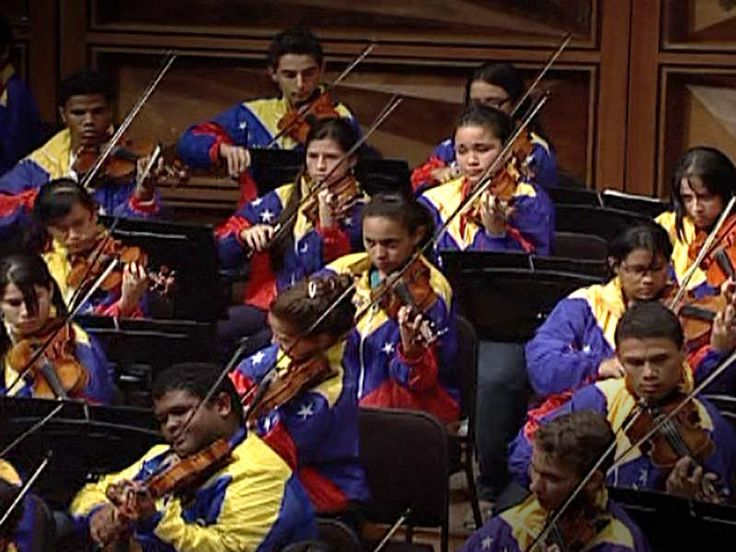 Gustavo Dudamel and the Teresa Carre√±o Youth Orchestra: El Sistema's top youth…