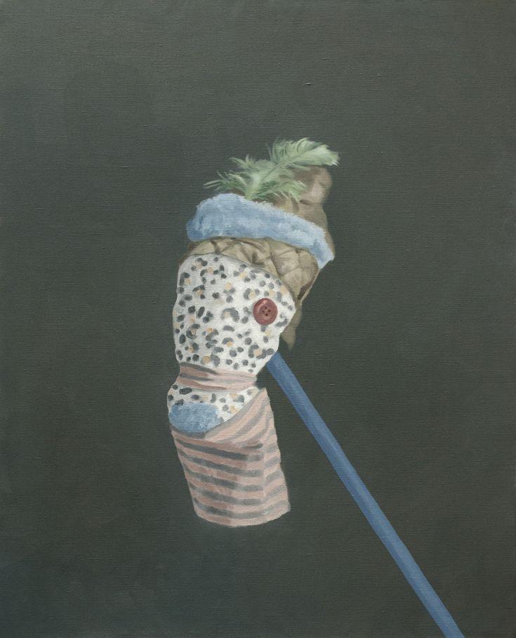 Giorgio Silvestrini - 2014 oil on canvas - 100 x 81 cm www.evahober.com