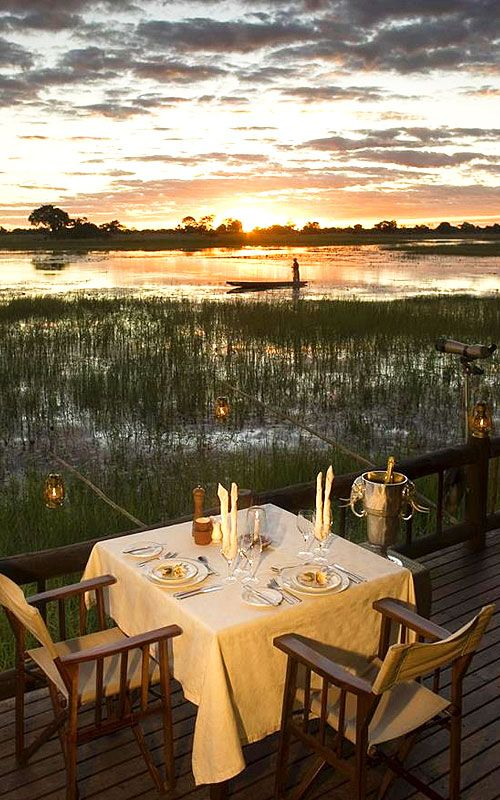 The most romantic dinner setting on earth! #travel #places