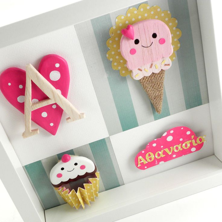 """Baby girl nursery wall art """"Sweets for the sweets"""""""