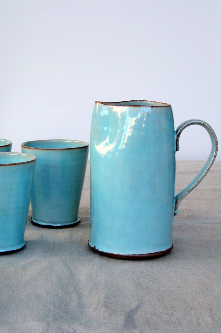 Handmade Ceramic Pitcher | Fresh Pottery on Etsy