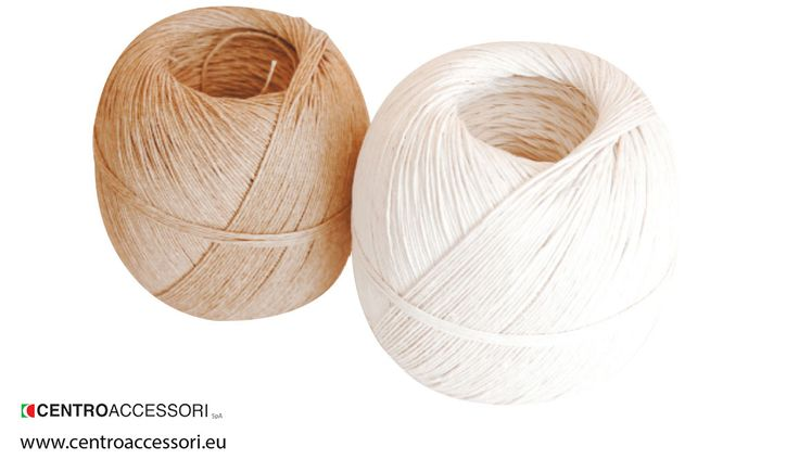 Spago canapa 100%. Hemp thread. #CentroAccessori