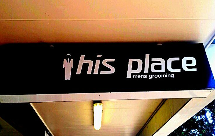 His place