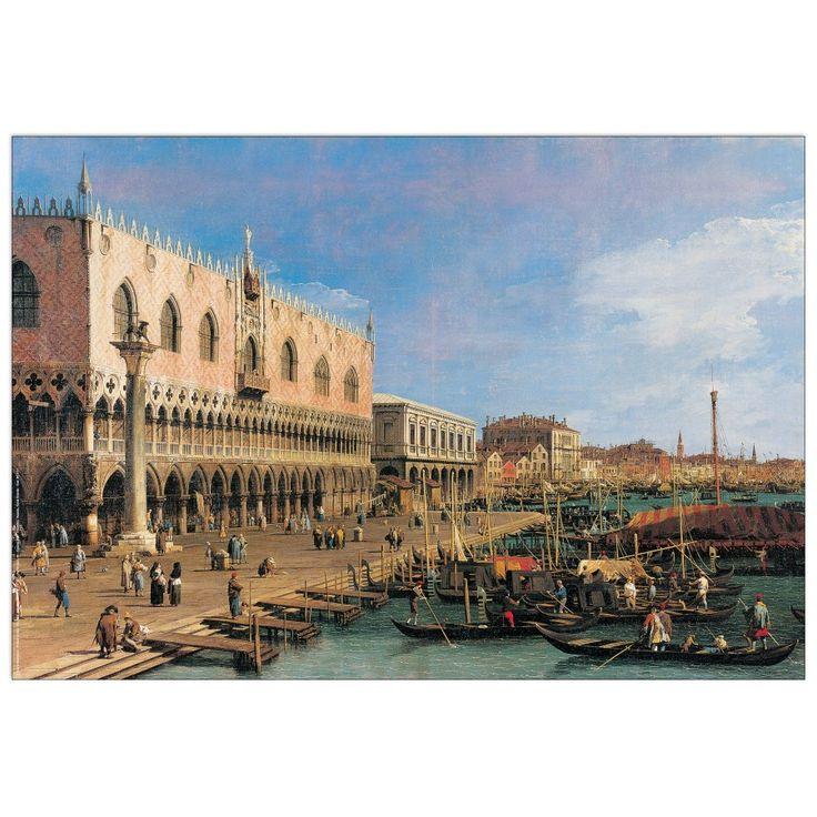 CANALETTO - Canal grande 80x55 cm #artprints #interior #design #art #prints   Scopri Descrizione e Prezzo http://www.artopweb.com/EC21779