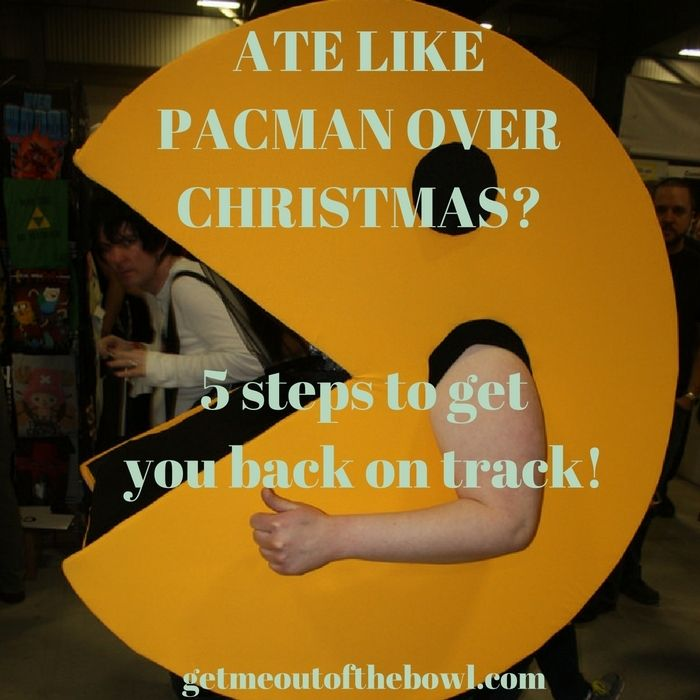 If you ate everything in sight over Xmas (pacman style), these steps will get you back on track in no time!