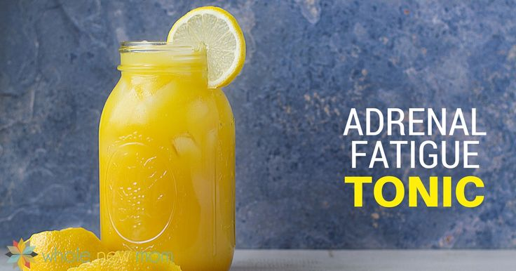 """This adrenal fatigue tonic, modeled after the """"Singing Canary"""" drink, is loaded with ingredients to support your adrenals and overall health."""