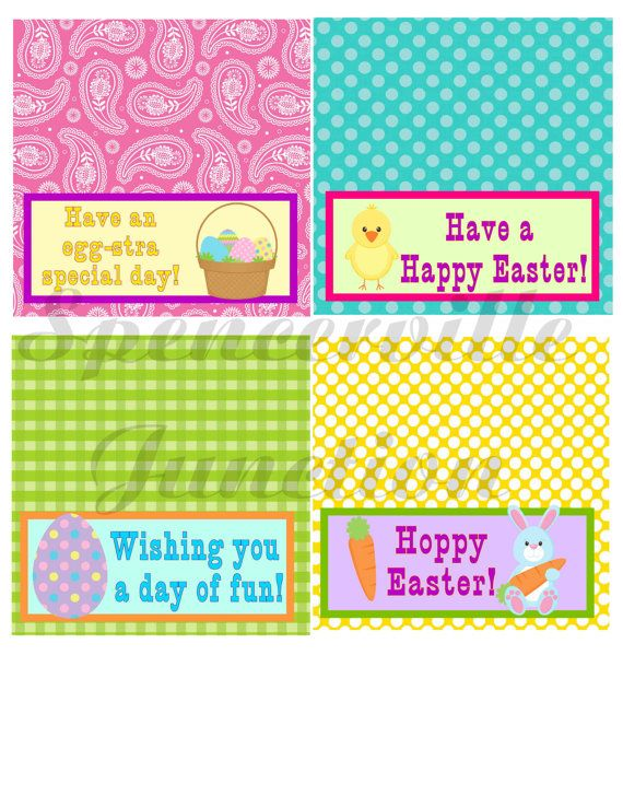 53 best cello bag topper images on pinterest goodie bags treat easter treat bag toppers negle Image collections