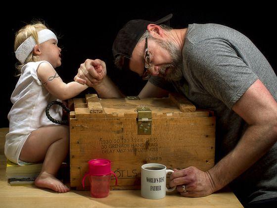 World's Best Father 2013 Calendar by Dave Engledow, via Kickstarter....really cute!