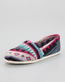 cute for fallTom Shoes, Prints Slip On, Shoes Boots, Prints Slipon, Shoe Boots, Tamin Prints, Tom Tamin, Tribal Prints, Neiman Marcus