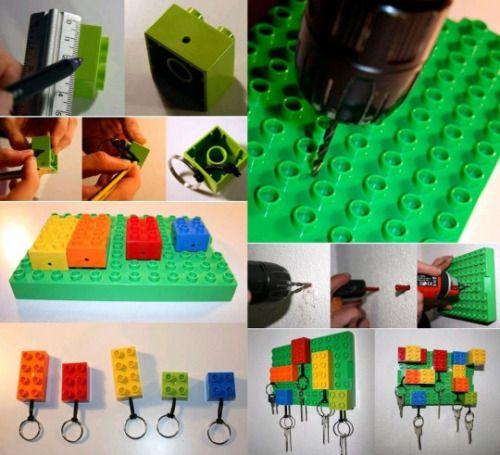 15 choses utiles à construire avec vos vieux Lego