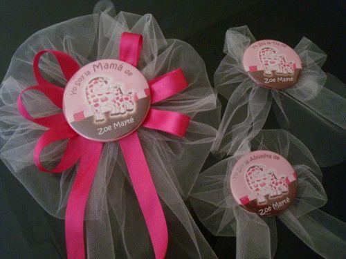 distintivos baby shower pinterest