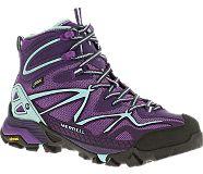 Vegan Hiking Boot: @merrelloutside Capra Mid Sport Gore-Tex.  vegan hiking | vegan boot | crueltyfree boot