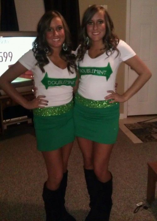 Doublemint gum costume Halloween Costume Ideas for
