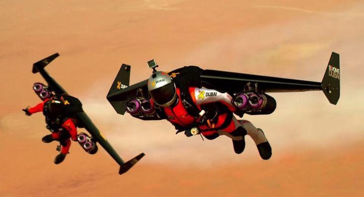 The Jetman Dubai Jetpack