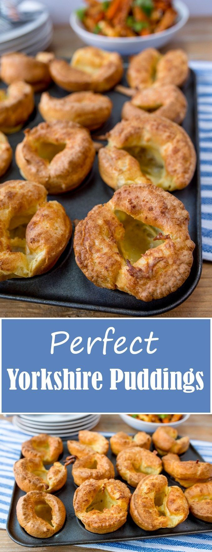 How to make the perfect Yorkshire puddings to go with your Sunday roast! Use plain flour? Allow the batter to rest? All your questions answered!