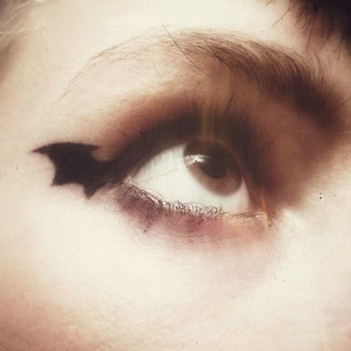 bat eyes
