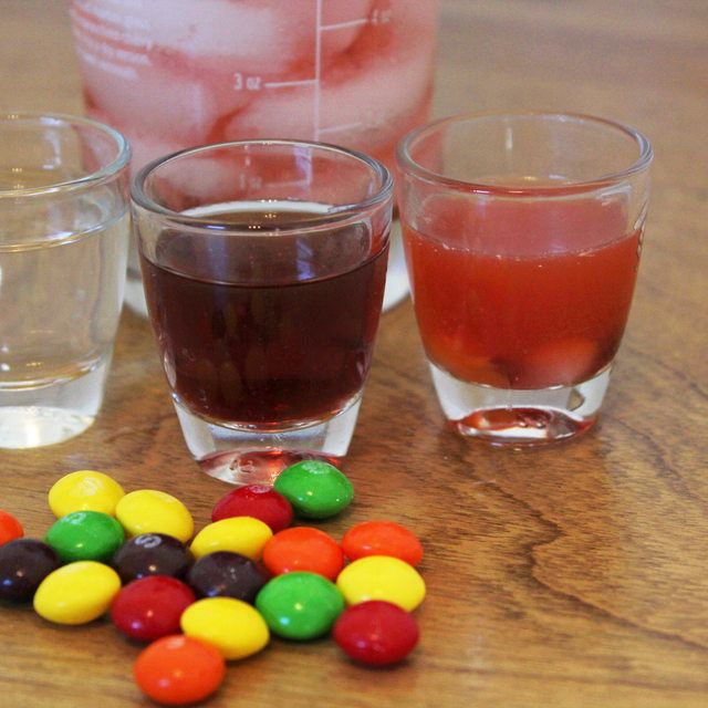 How to Make a Skittles Shot