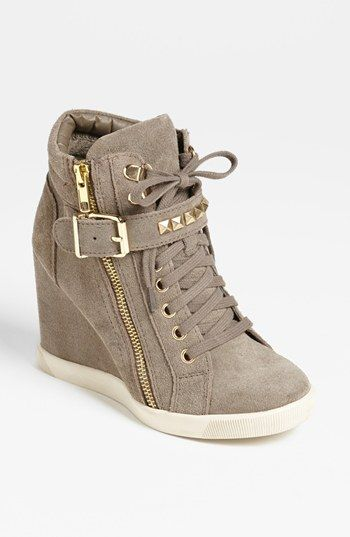 Steve Madden 'Obsess' Wedge Sneaker available at Not your ho hum high top