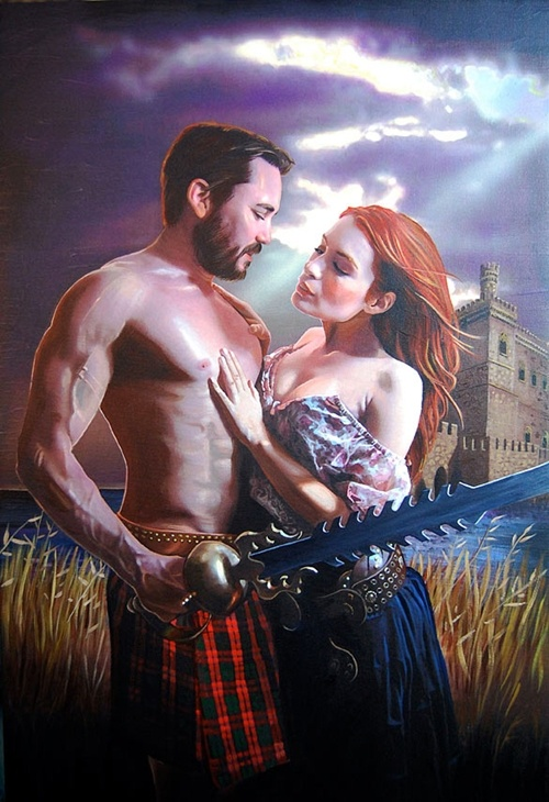Highland Sextasy: I've been seeing this around the Internet for so long and I thought it was just a goofy picture someone did. Now my intense desire to not write my lab reports has taught me it's from the magnificent show The Guild.