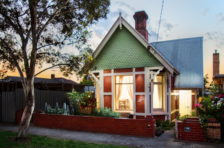 My Queen Ann Victorian House, built 1892, heritage listed.  I have recently completed a sustainable extension at the rear keeping the original three front rooms in tact and one other is now a bathroom.  I am please to say it one a few awards for sustainable design!