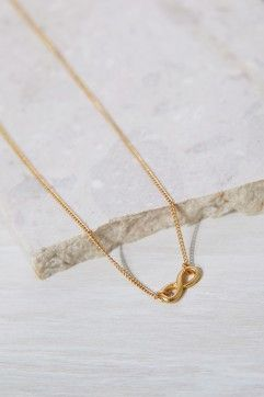 Infinity Charm Necklace Gift