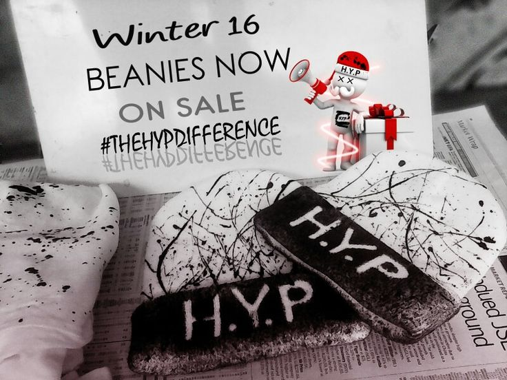 H.Y.P beanies #TheHypDifference