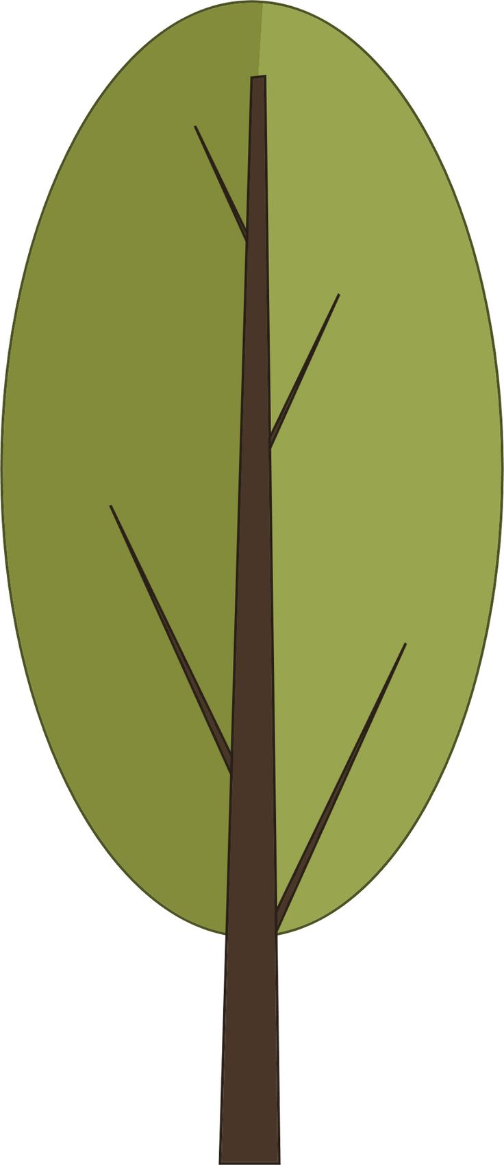 trees  u203f  u2040 u00b0 u2022 u2022 clipart trees and leaves pinterest tree clip art free images tree clip art black and white