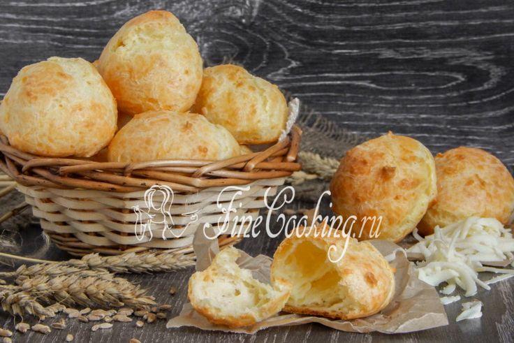 Сырные заварные булочки (гужеры) - рецепт с фото