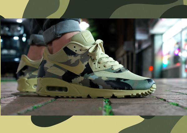 Chubster favourite ! - Coup de cœur du Chubster ! - shoes for men - chaussures pour homme - sneakers - Nike Air Max 90 Hyperfuse Camo Italy