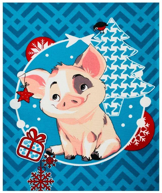 Прикольные, открытки детские на новый год в год свиньи