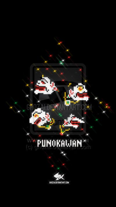 star of punokawan by me ~ghozai on deviantART.  punokawan is formed by semar, gareng, petruk, and bagong. they are servant of heroes, pandawa. :)