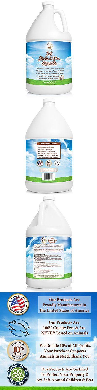 Odor and Stain Removal 134755: Pet Stain Odor Remover Cleaner Eliminator Carpet Neutralizer Cat Urine Smell -> BUY IT NOW ONLY: $62.86 on eBay!