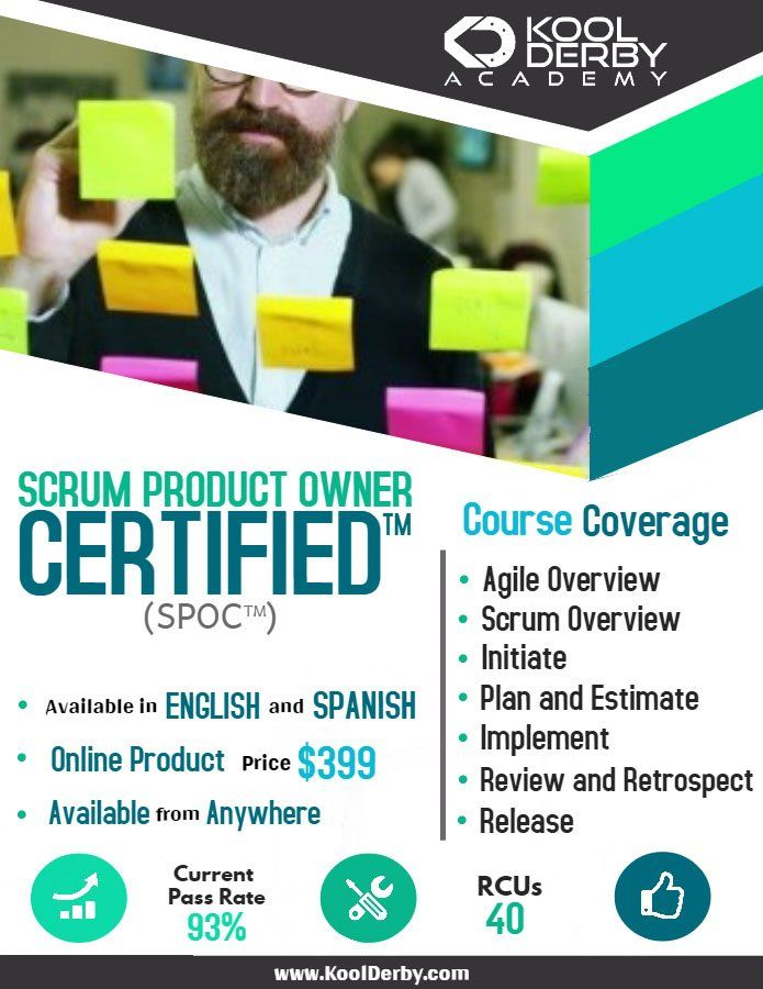 Join Our Scrum Product Owner Certification Training And Find The