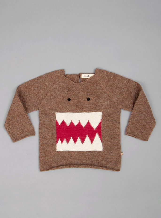 Oeuf Monster Sweater 82